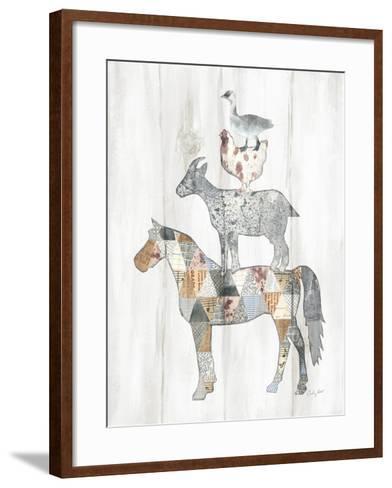 Farm Family II-Courtney Prahl-Framed Art Print