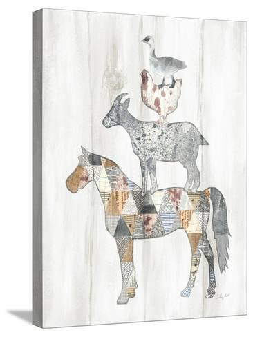 Farm Family II-Courtney Prahl-Stretched Canvas Print