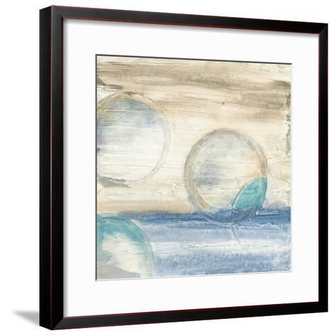 Circles in Time IV-Chris Paschke-Framed Art Print