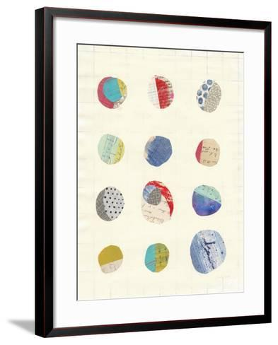 Geometric Collage II-Courtney Prahl-Framed Art Print