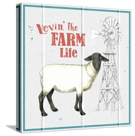 Farm To Table VII-Beth Grove-Stretched Canvas Print