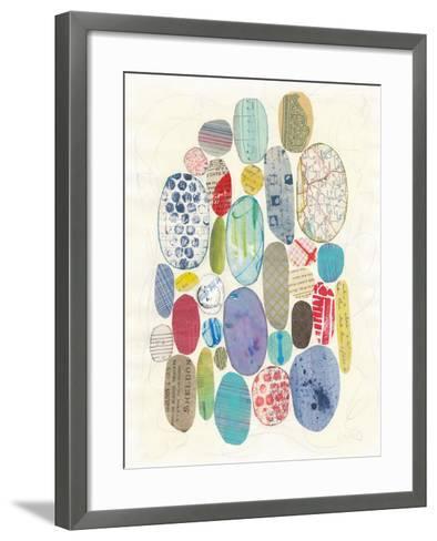 Geometric Collage I-Courtney Prahl-Framed Art Print
