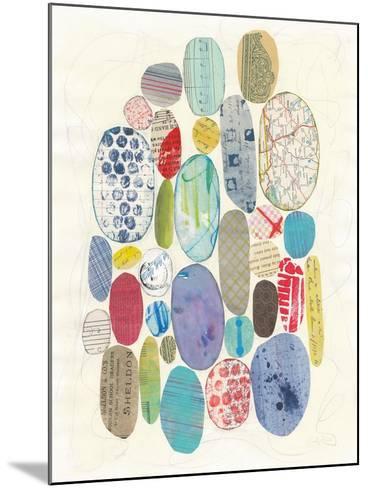 Geometric Collage I-Courtney Prahl-Mounted Art Print