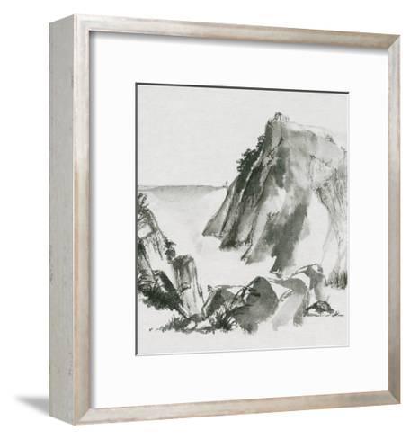 Sumi Rocks-Chris Paschke-Framed Art Print