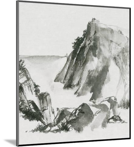 Sumi Rocks-Chris Paschke-Mounted Art Print