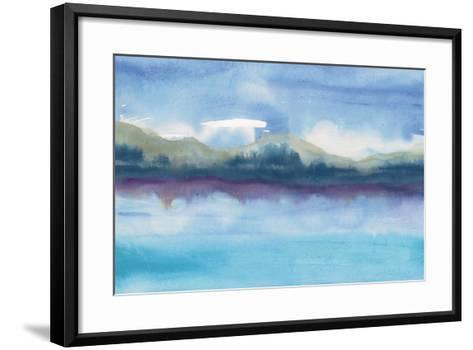 Violet Reflection III-Chris Paschke-Framed Art Print