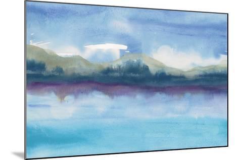 Violet Reflection III-Chris Paschke-Mounted Art Print