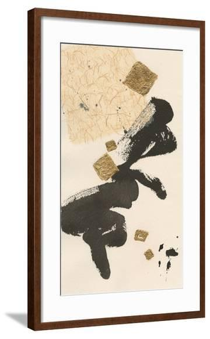 Gilded Collage II-Chris Paschke-Framed Art Print