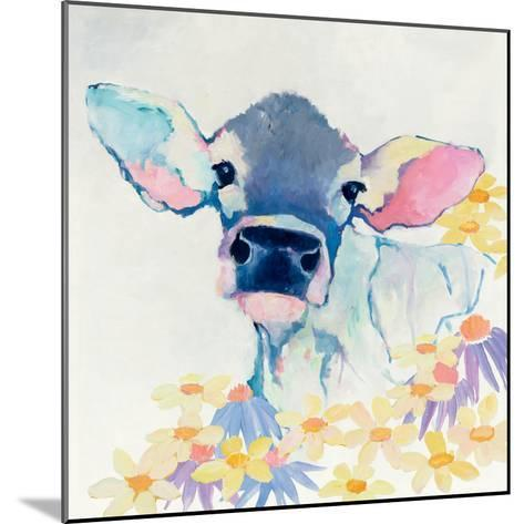 Bessie with Flowers-Avery Tillmon-Mounted Art Print