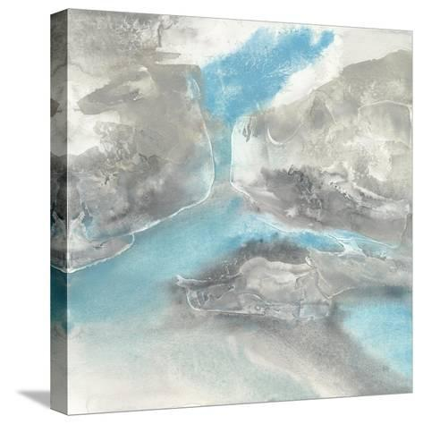 Blue Tones II-Chris Paschke-Stretched Canvas Print