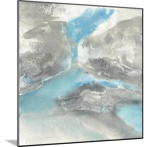 Blue Tones II-Chris Paschke-Mounted Art Print