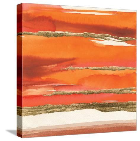 Gilded Mandarin II-Chris Paschke-Stretched Canvas Print