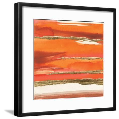 Gilded Mandarin II-Chris Paschke-Framed Art Print