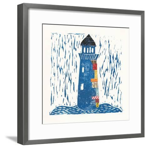 Nautical Collage II-Courtney Prahl-Framed Art Print