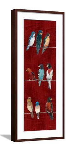 The Usual Suspects Panel V-Avery Tillmon-Framed Art Print