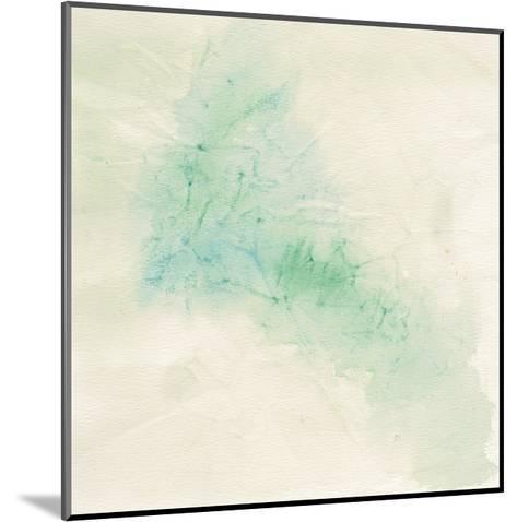 Crinkle Green-Chris Paschke-Mounted Art Print