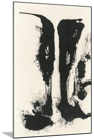 Sumi Waterfall View V-Chris Paschke-Mounted Art Print