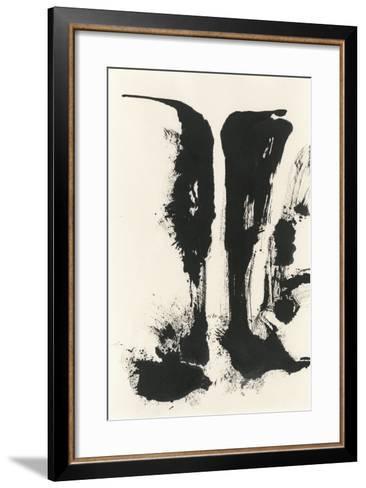Sumi Waterfall View V-Chris Paschke-Framed Art Print