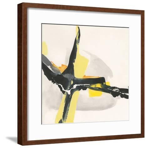 Creamy Yellow I-Chris Paschke-Framed Art Print
