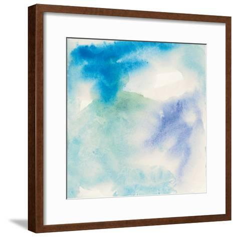 Crinkle Blue-Chris Paschke-Framed Art Print