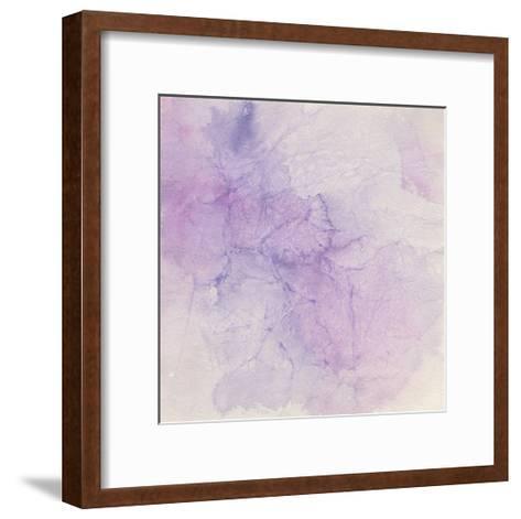 Crinkle Violet-Chris Paschke-Framed Art Print