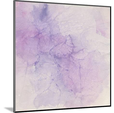 Crinkle Violet-Chris Paschke-Mounted Art Print
