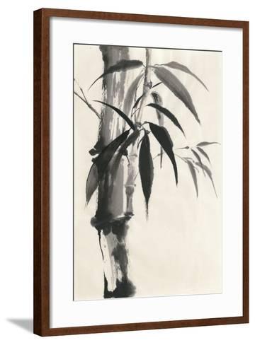 Sumi Bamboo Cream-Chris Paschke-Framed Art Print