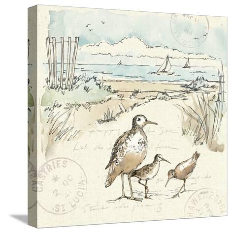 Coastal Breeze X-Anne Tavoletti-Stretched Canvas Print