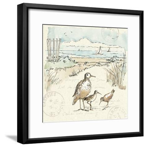 Coastal Breeze X-Anne Tavoletti-Framed Art Print