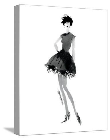 Modern Fashion III-Anne Tavoletti-Stretched Canvas Print