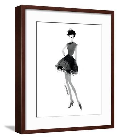Modern Fashion III-Anne Tavoletti-Framed Art Print