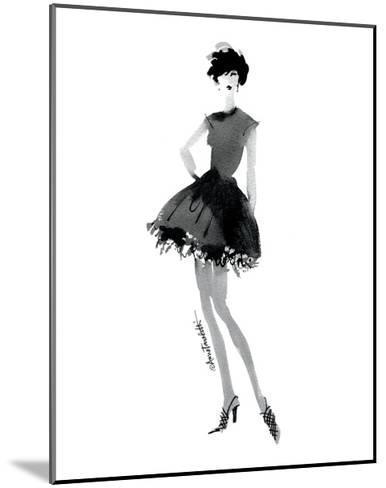 Modern Fashion III-Anne Tavoletti-Mounted Art Print