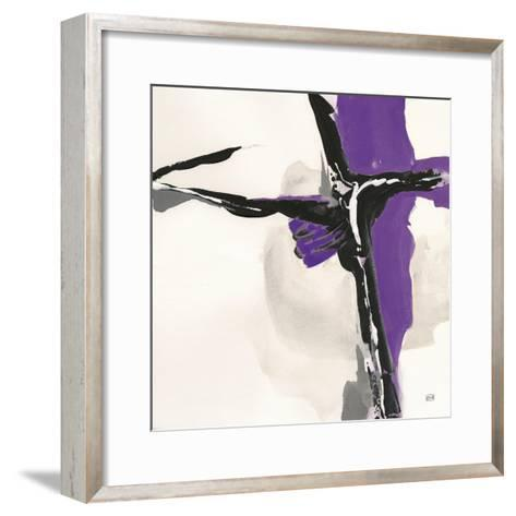 Creamy Amethyst II-Chris Paschke-Framed Art Print