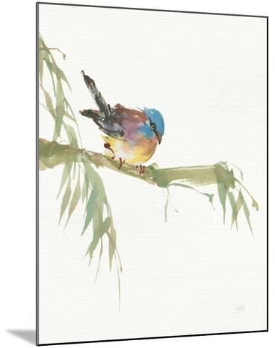 Finch v2-Chris Paschke-Mounted Art Print