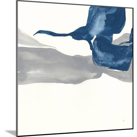 Sapphire and Gray I-Chris Paschke-Mounted Art Print