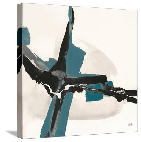 Creamy Cerulean I-Chris Paschke-Stretched Canvas Print