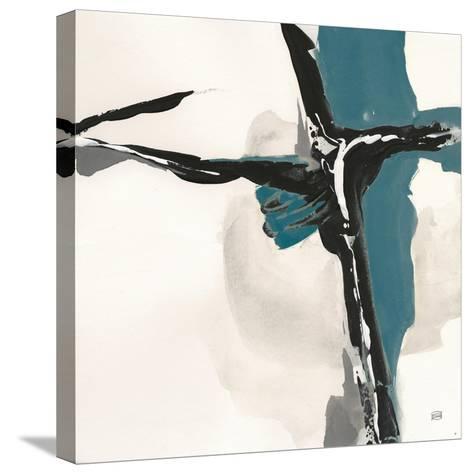 Creamy Cerulean II-Chris Paschke-Stretched Canvas Print