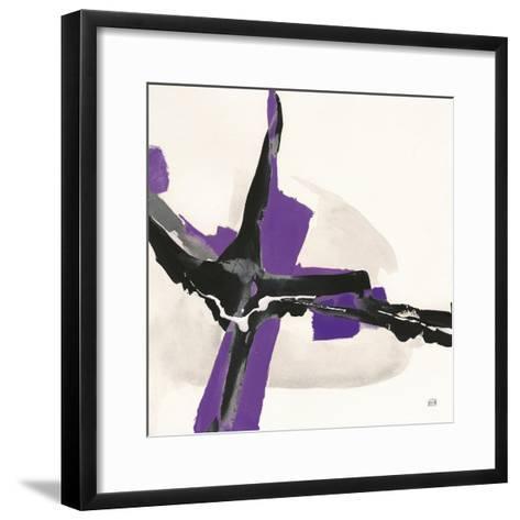 Creamy Amethyst I-Chris Paschke-Framed Art Print