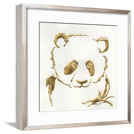 Gilded Panda-Chris Paschke-Framed Art Print