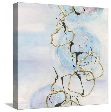 Abstract Lines on Pastel II-Chris Paschke-Stretched Canvas Print