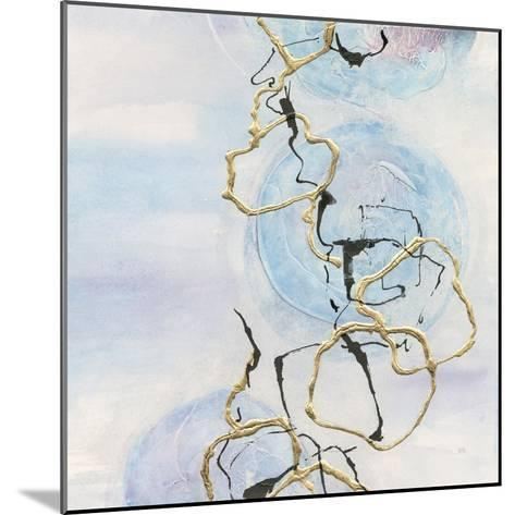 Abstract Lines on Pastel II-Chris Paschke-Mounted Art Print
