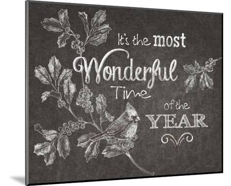 Chalkboard Christmas Sayings VI-Beth Grove-Mounted Art Print