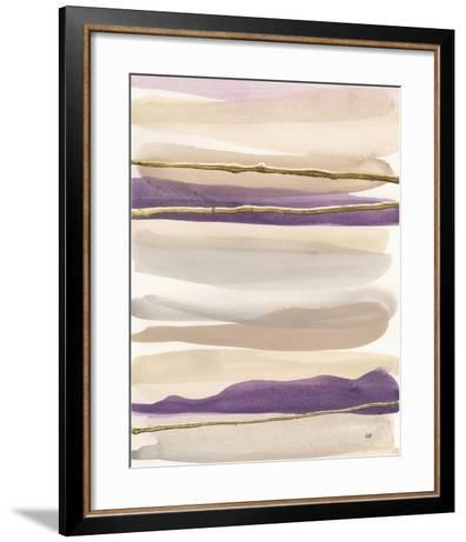 Gilded Amethyst II Crop-Chris Paschke-Framed Art Print
