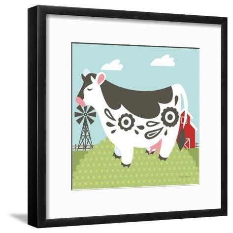 Little Farm IV-Cleonique Hilsaca-Framed Art Print