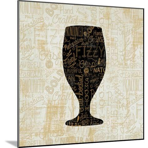 Cheers for Beers Goblet-Cleonique Hilsaca-Mounted Art Print