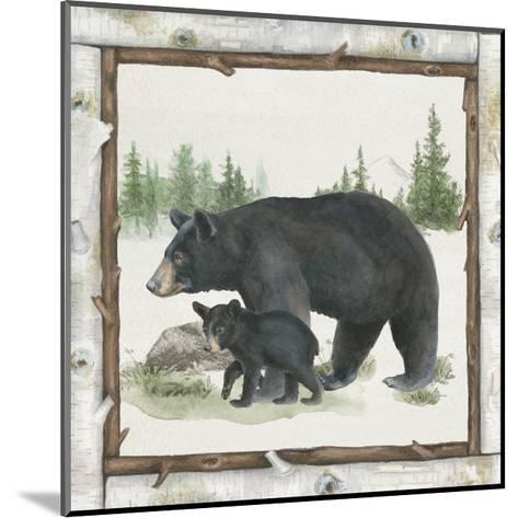 Family Cabin IV-Beth Grove-Mounted Art Print