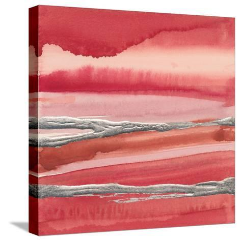 Silver Marsh-Chris Paschke-Stretched Canvas Print