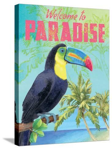 Island Time Toucan II-Beth Grove-Stretched Canvas Print