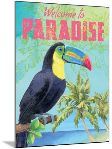 Island Time Toucan II-Beth Grove-Mounted Art Print