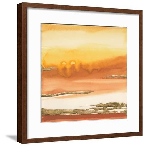 Gilded Amber I-Chris Paschke-Framed Art Print